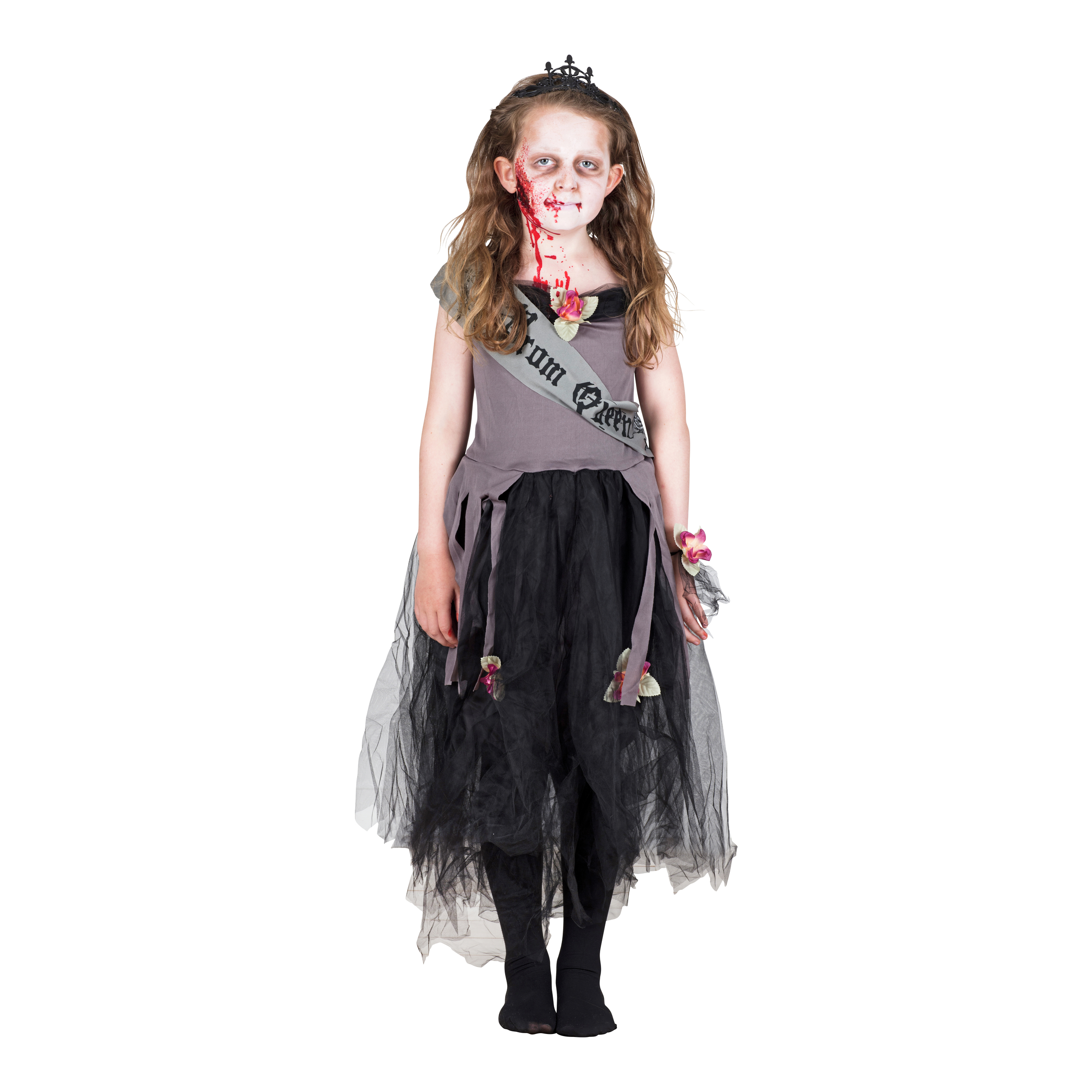KOSTYME ZOMBIE PROM QUEEN, M-HAL1241