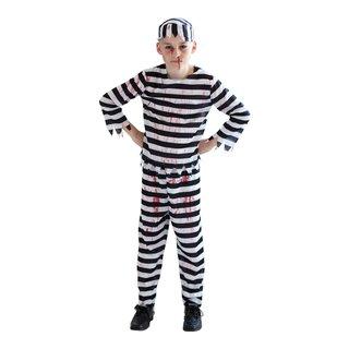 KOSTYME ZOMBIE BOY PRISONER-HAL1258
