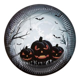 Halloween tallerkner 8pk