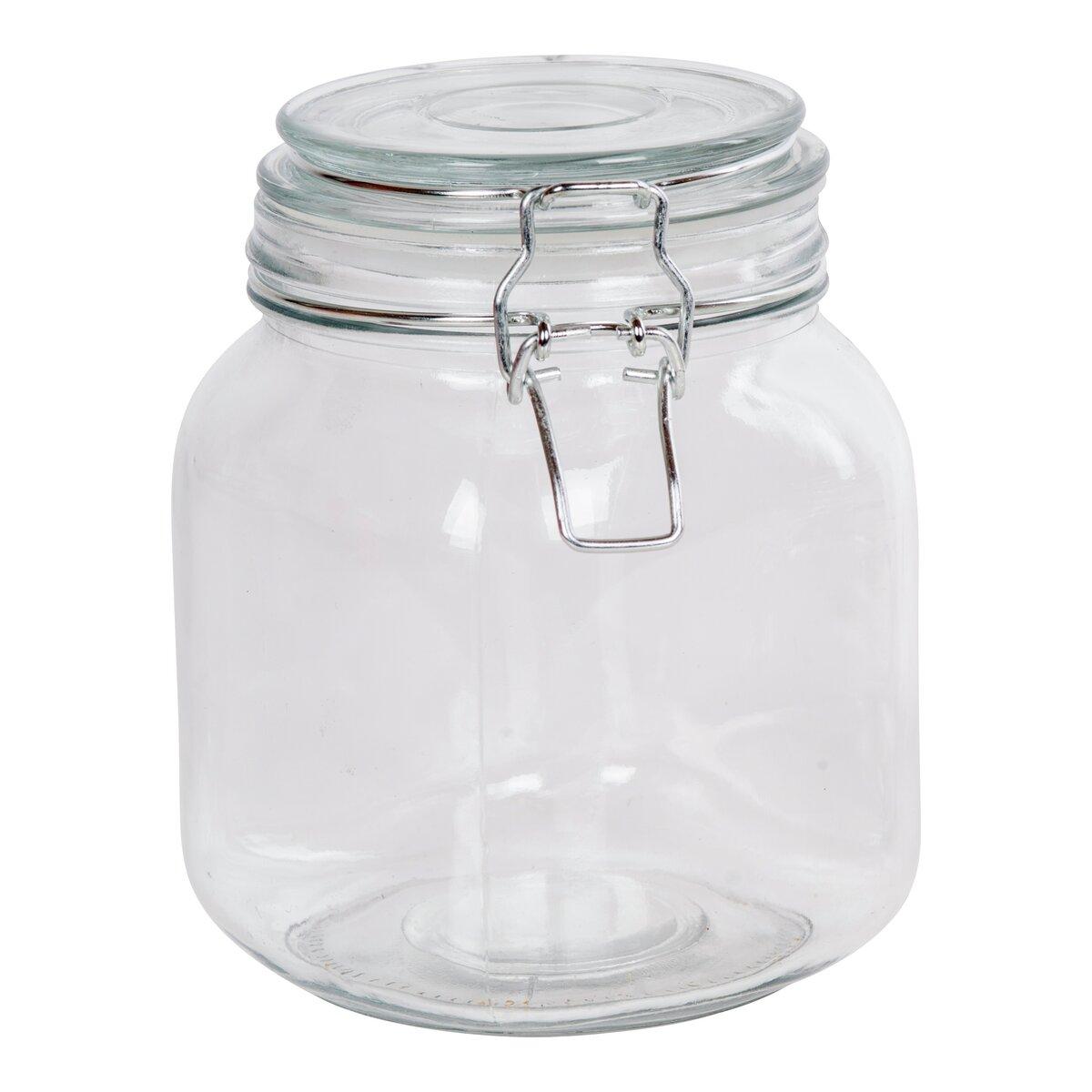 Glasskrukke med lokk