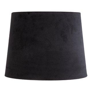 LINEN LAMPESKJERM H16CM SORT-LAM1054