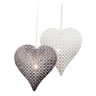 vindu, lys, elektrisk, hjerte, metall, henge