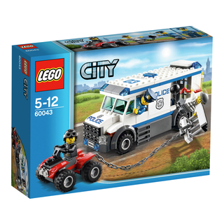 LEGO CITY Fångtransport