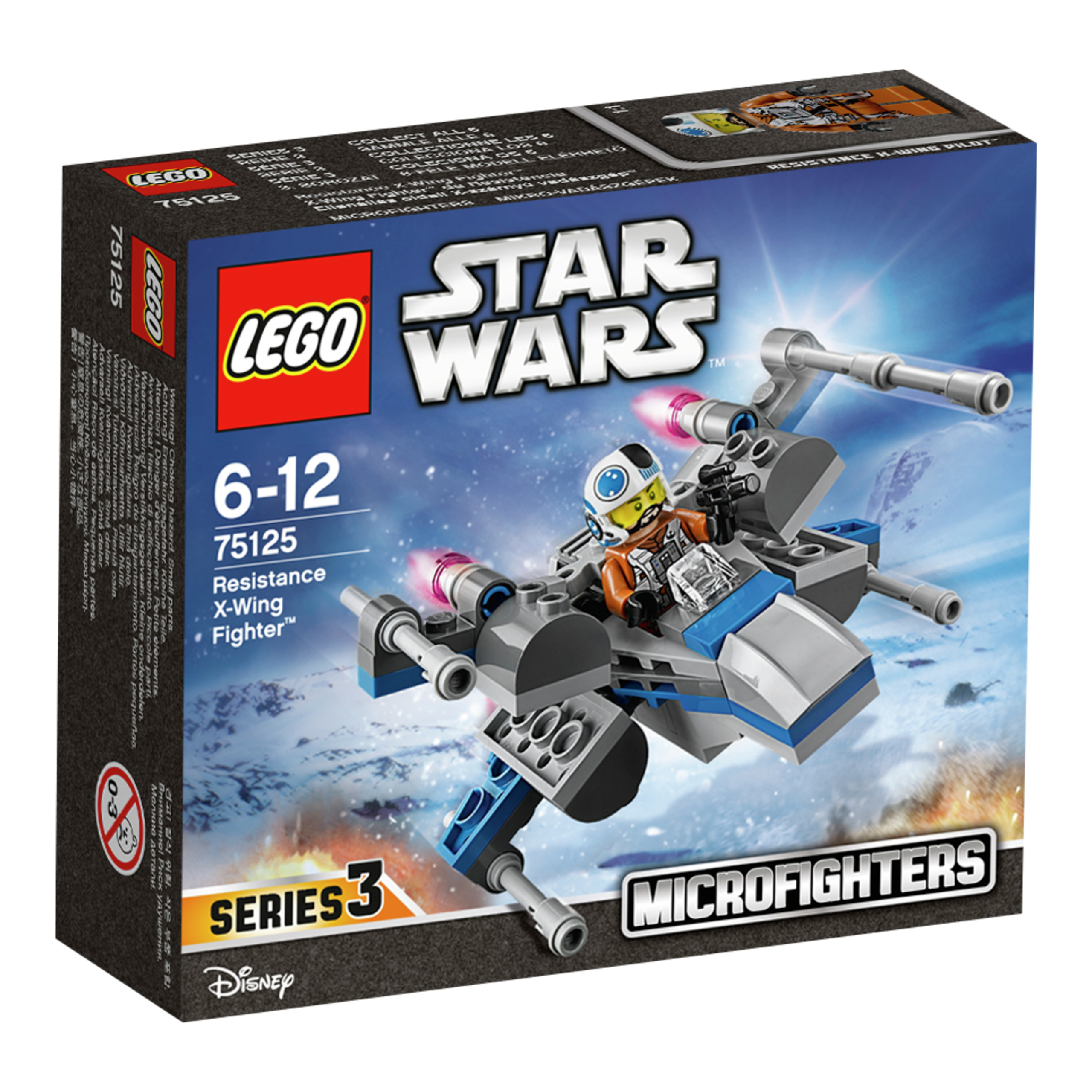 Star Wars X-Wing fighter-LEK1261