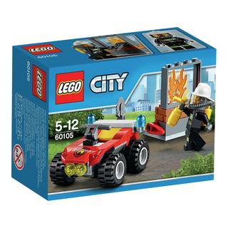 LEGO City Brandfyrhjuling