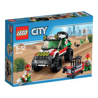 LEGO City fyrhjulsdriven terrängbil