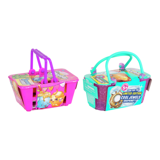 Shopkins 2 in a basket