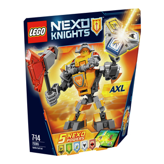 LEGO Nexo Knights Axl i kamprustning