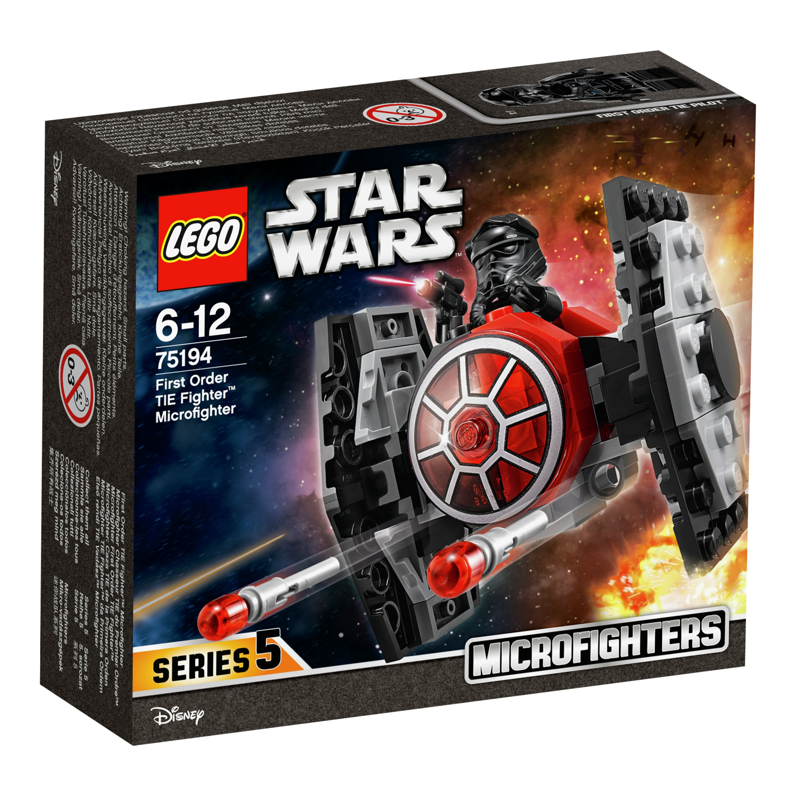 LEGO FIRST ORDER TIE FIGHTER-LEK2160