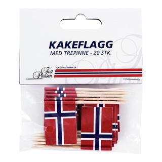 Kakeflagg 20pk