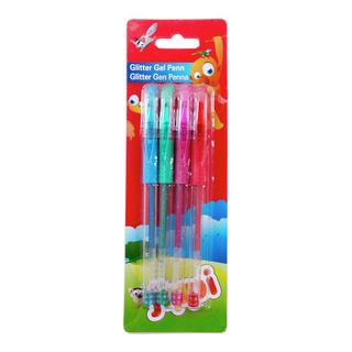 Glitter gel penn 4pk-PEN2029