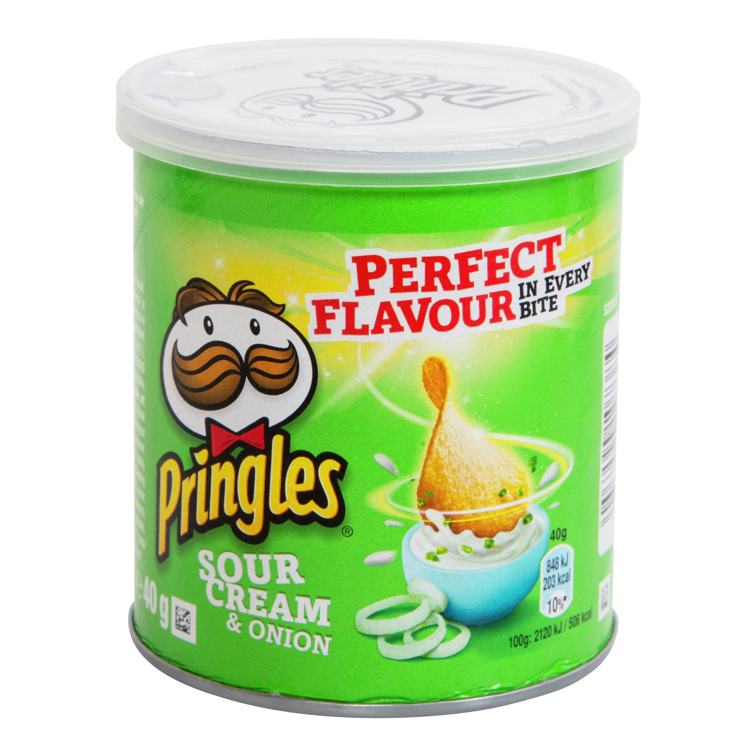 PRINGLES SOURCREAM & ONION 40G-POT038