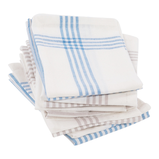 Stripes Tygservetter 2-pack