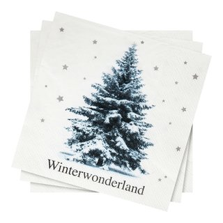 WINTERTREE SERVIETTER 20PK 33-SER1596
