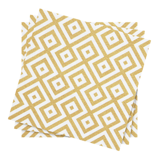 GOLD PATTERN SERVIETT 20PK 33C-SER2209