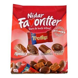 Sjokolade, Nidar, troika, godteri
