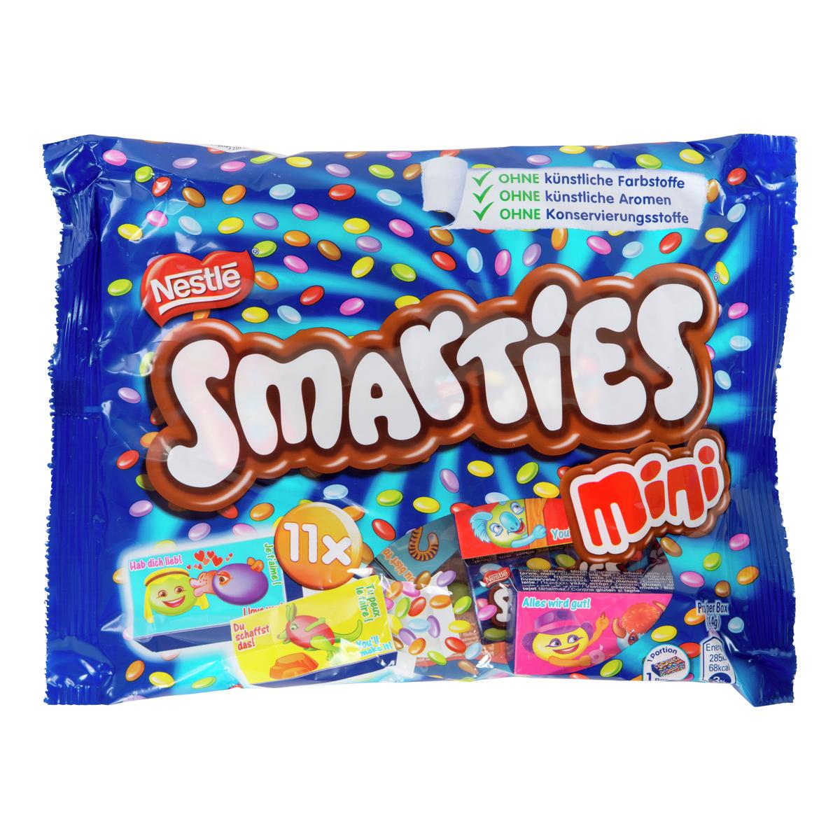Smarties mini Nestlè 158g - POSER/ESKER - Nille Smarties Mini