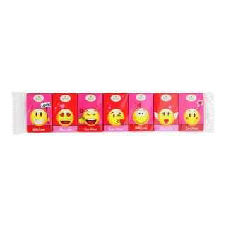MINI BARS, LOVE SMILEY, 7STK-SJO580
