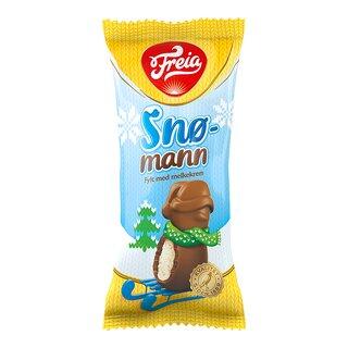 Sjokoladesnømann med melkekrem-SJO764