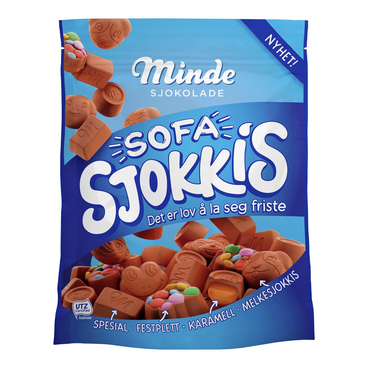 Minde Sofa Sjokkis-SJO971