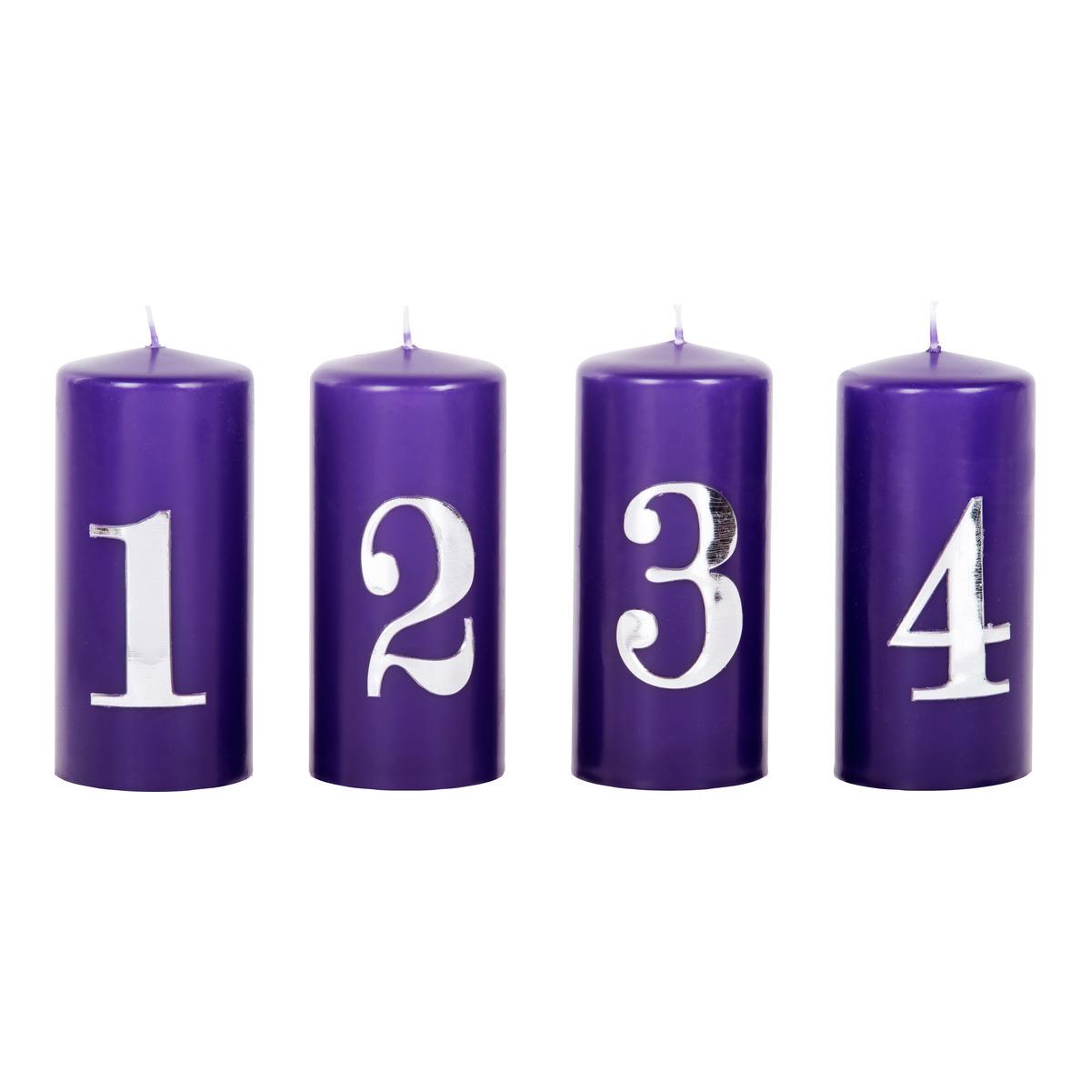Adventslys 4pk-STE3305