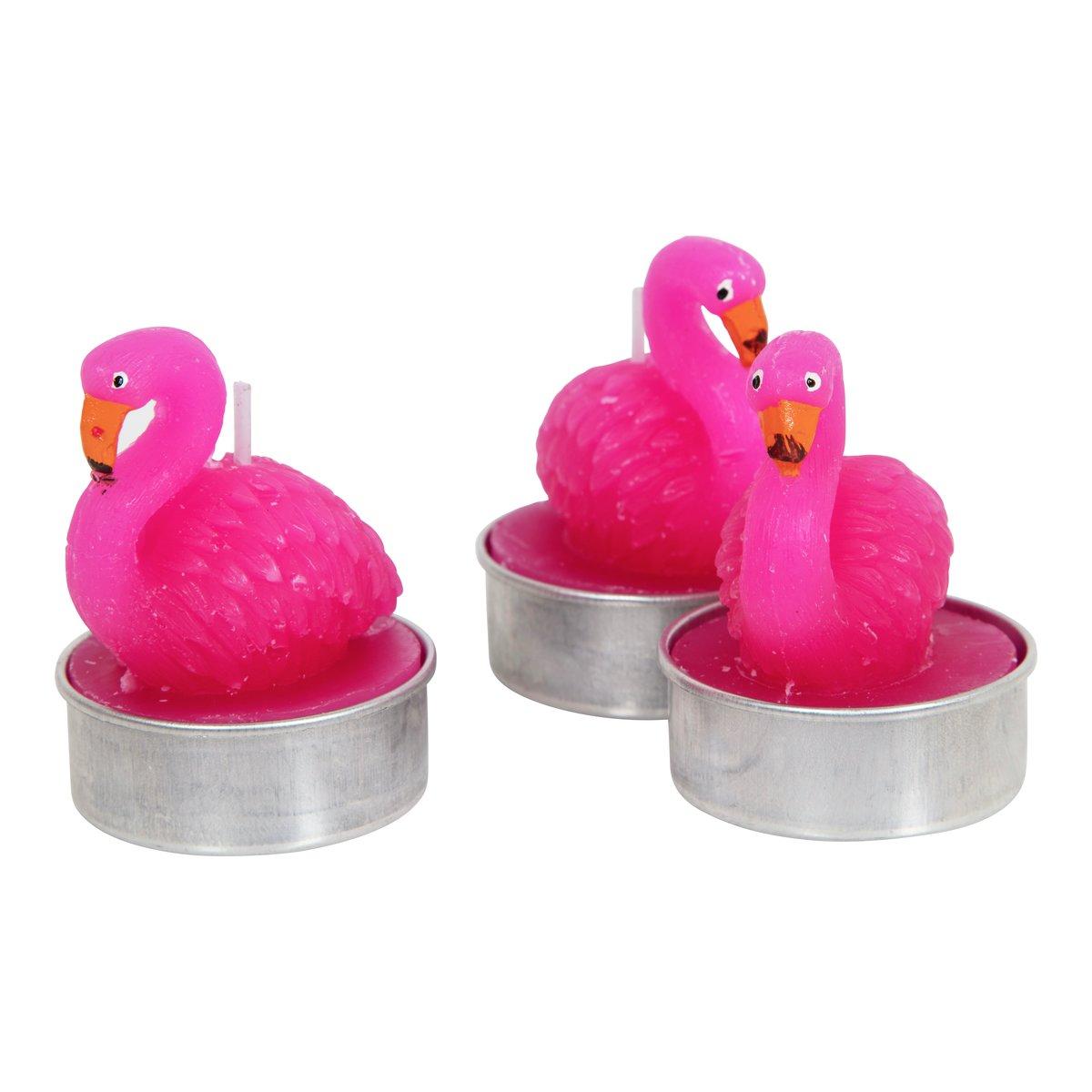 Figurtelys flamingo 3pk-STE5245