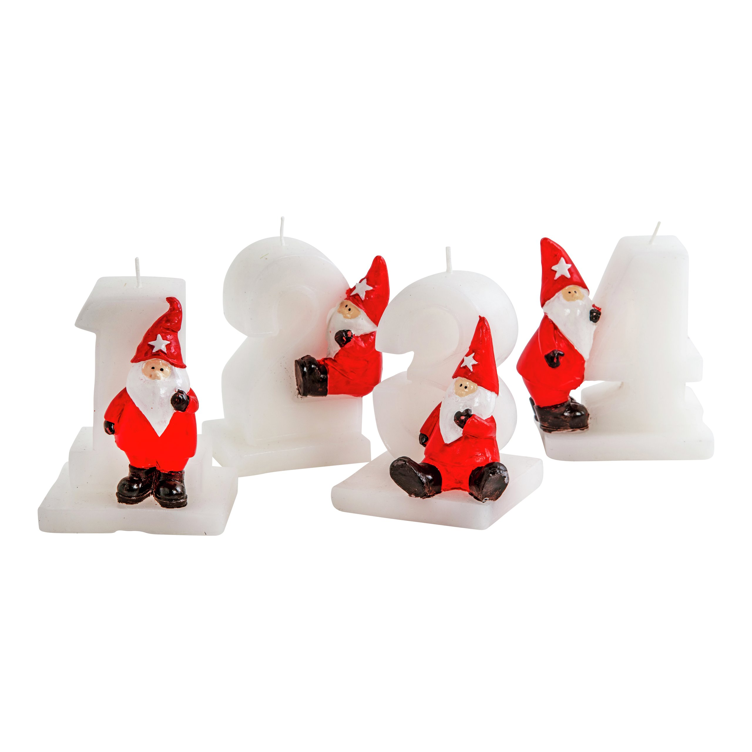 FIGURLYS ADVENT 1-4 H8CM 4,5h-STE8186