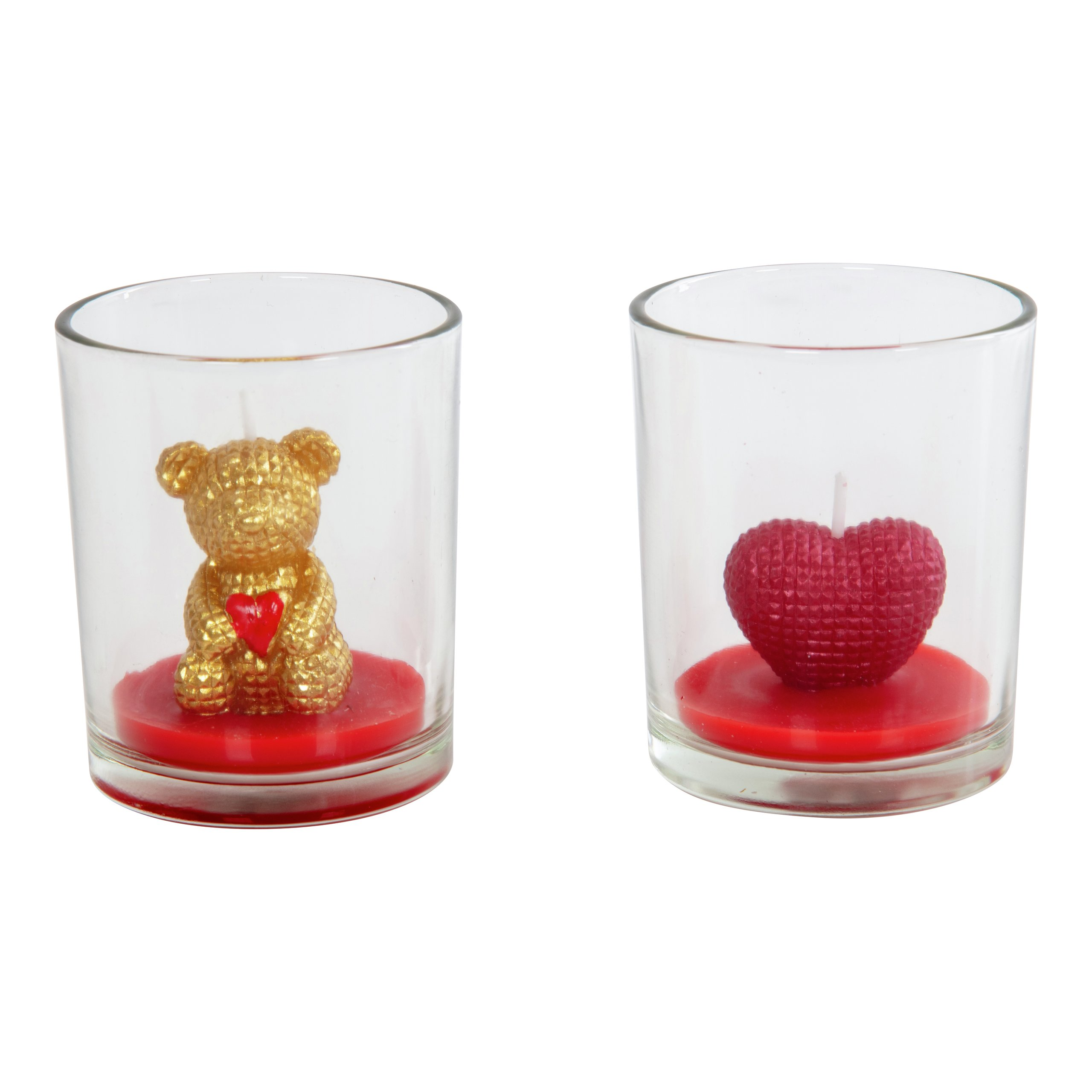 FIGUR VALENTINELYS I GLASS V2 3h-STE8300