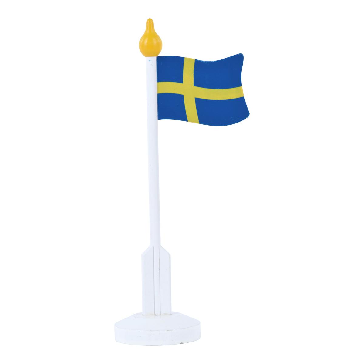 Flagga med fot