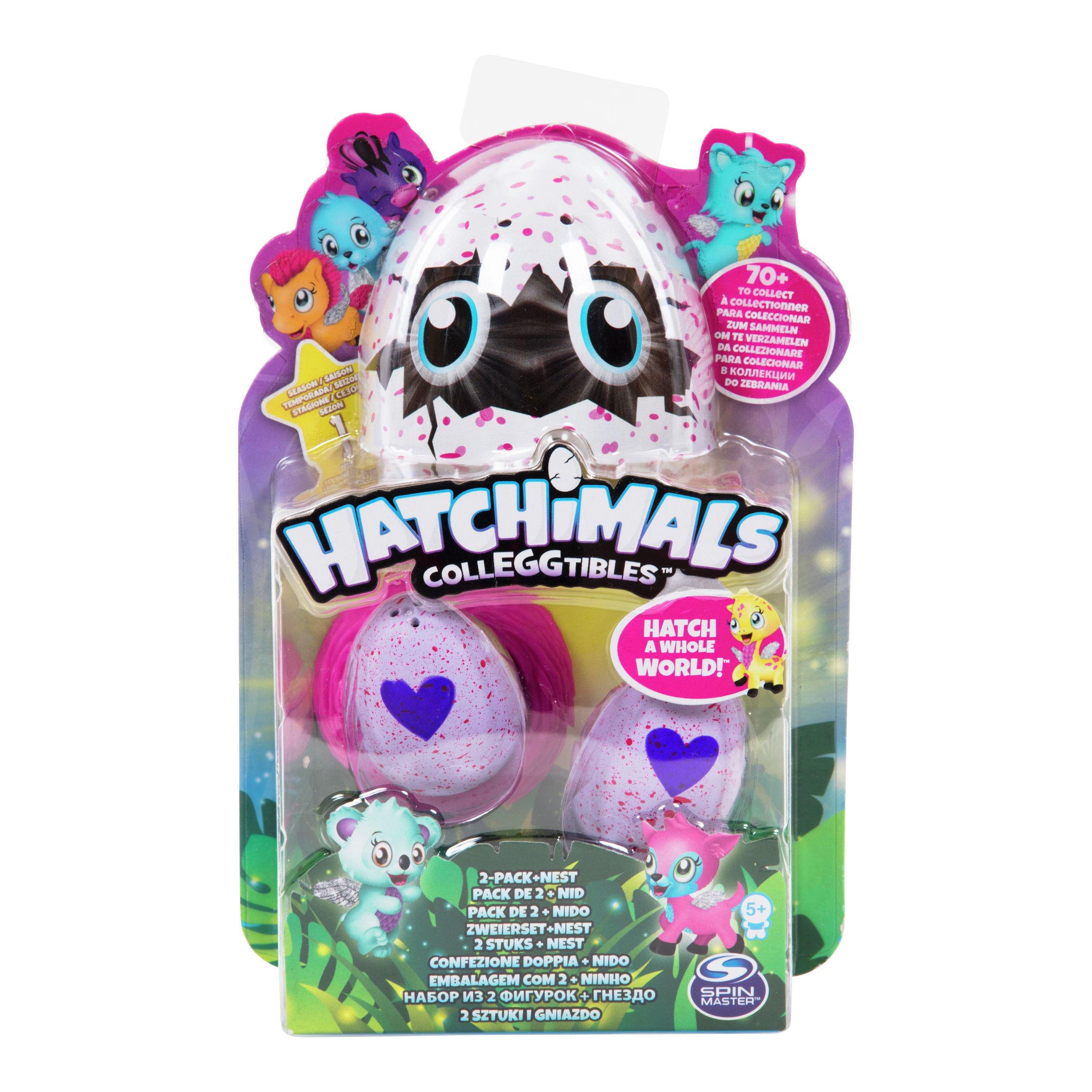 HATCHIMALS COLLEGGTIBLES 2PK-TOY2003