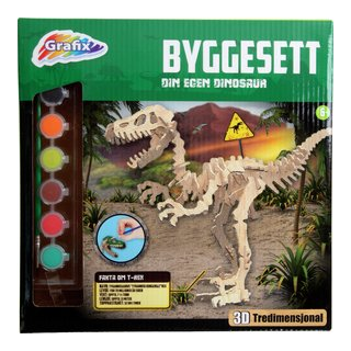 DIY WOODEN DINOSAUR KIT-TOY2113