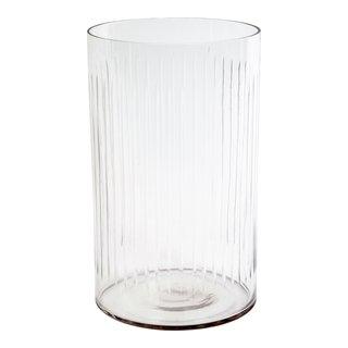 DELUXE GLASSVASE H25/Ø15CM-VAS1035