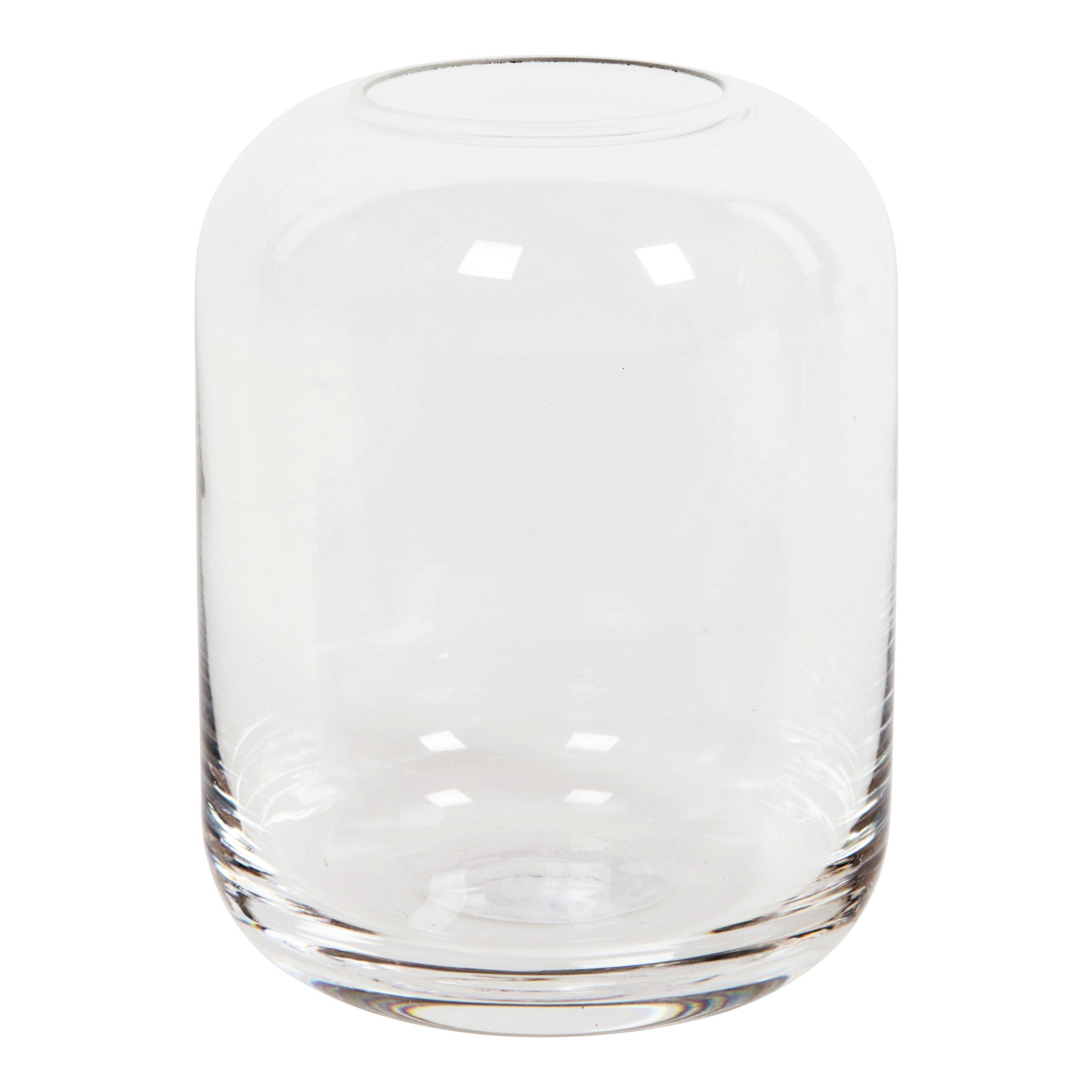 VIDRO GLASSVASE H10CM KLAR-VAS1036