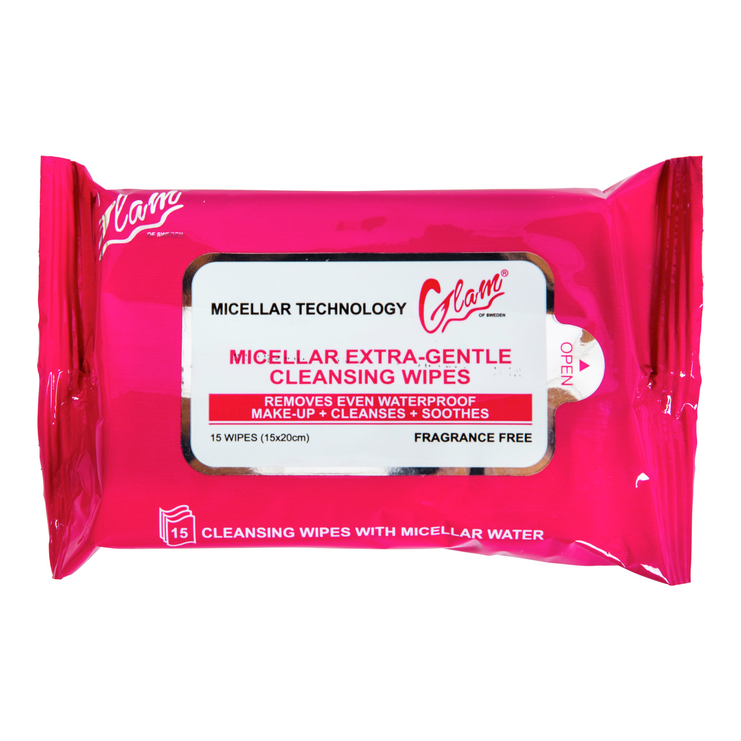 MAKE UP WIPES MICELLAR-WET720